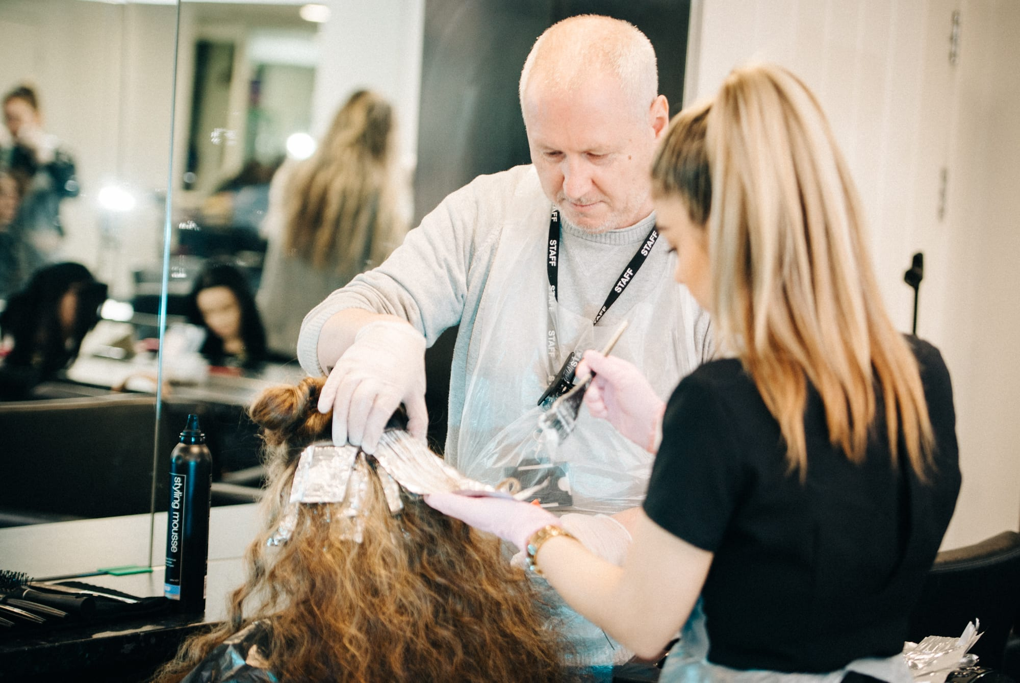 Keep on trend with a Mode hairdressing apprenticeship